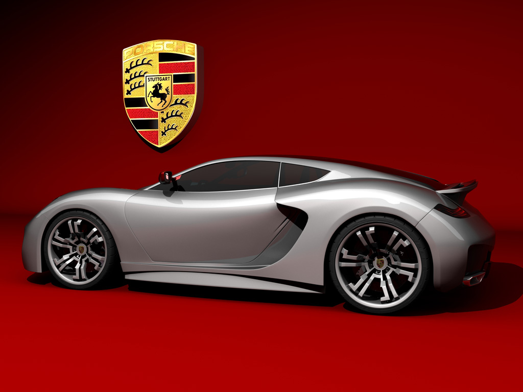 Iranian Designs Future Porsche Supercar